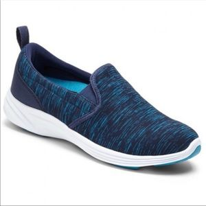 VIONIC Agile Kea Navy Teal Slip On Walking Shoes